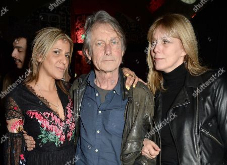 Azzi Glasser, Bruce Robinson and Sophie Windham