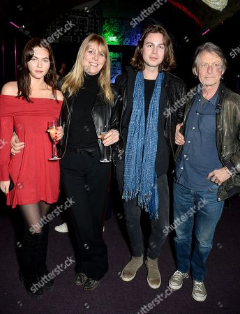 Lily India Robinson, Sophie Windham, Willoughby Robinson and Bruce Robinson