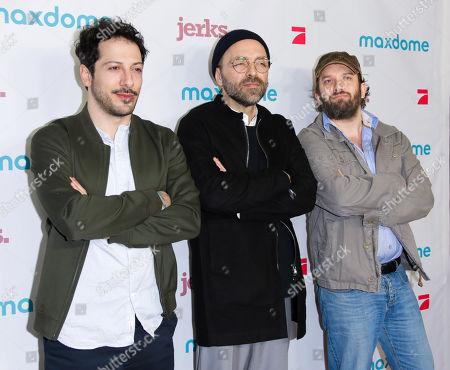 Fahri Yardim, Aleksander Jovanovic and Christian Ulmen