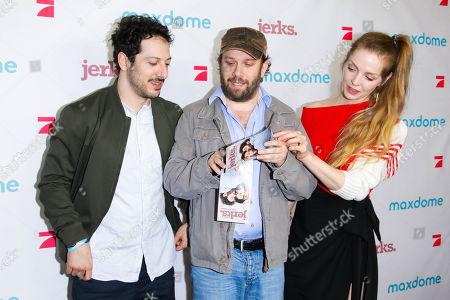 Fahri Yardim, Christian Ulmen and Pheline Roggan