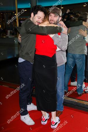 Fahri Yardim, Pheline Roggan and Christian Ulmen