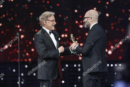 Steven Spielberg and Donato Carrisi
