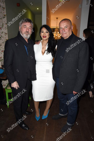 Editorial image of Hereford Television launch party, London, UK - 21 Mar 2018