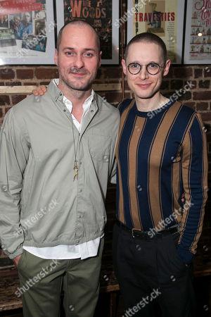 Declan Bennett (Valentin) and Samuel Barnett (Molina)