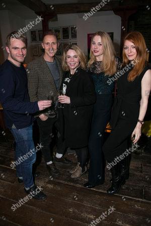 Adam Penford, Peter Caulfield, Kaisa Hammarlund, Kelly Price and Laura Pitt-Pulford