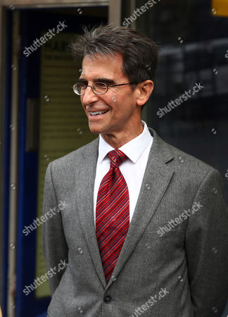 On, San Francisco Mayoral candidate Mark Leno smiles while speaking to supporters in San Francisco