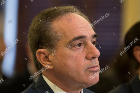 United States Secretary of Veterans Affairs, David Shulkin, testifies during a United States Senate Veterans Affairs Committee at the United States Capitol