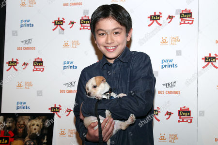 "Editorial picture of Paw Prints Presents a Special Screening of ""ISLE OF DOGS"", New York, USA - 21 Mar 2018"