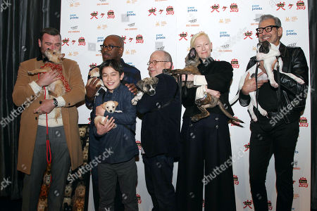 "Editorial photo of Paw Prints Presents a Special Screening of ""ISLE OF DOGS"", New York, USA - 21 Mar 2018"