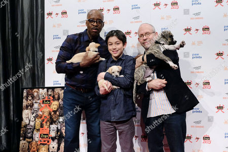 Courtney B Vance, Koyu Rankin and Bob Balaban
