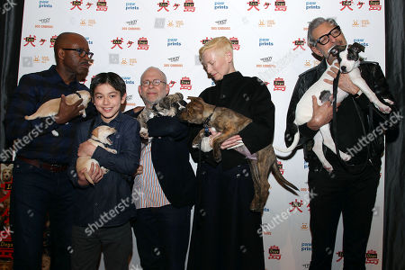 Courtney B Vance, Koyu Rankin, Bob Balaban, Tilda Swinton and Jeff Goldblum