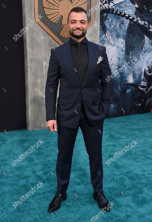"""Nick E. Tarabay arrives at the global premiere of """"Pacific Rim Uprising"""" at the TCL Chinese Theatre, in Los Angeles"""