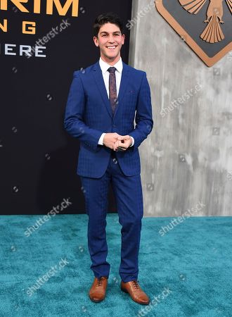 """Rahart Adams arrives at the global premiere of """"Pacific Rim Uprising"""" at the TCL Chinese Theatre, in Los Angeles"""