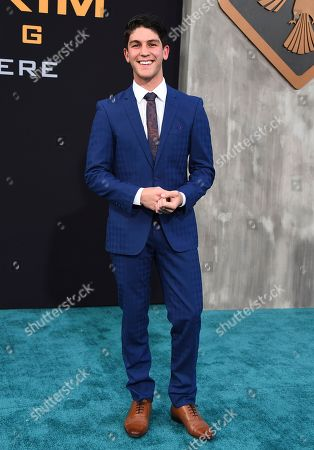 """Stock Image of Rahart Adams arrives at the global premiere of """"Pacific Rim Uprising"""" at the TCL Chinese Theatre, in Los Angeles"""