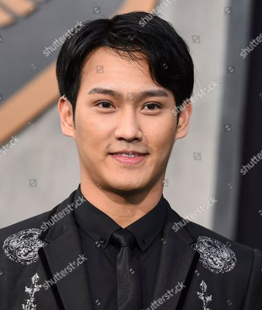 "Wesley Wong arrives at the global premiere of ""Pacific Rim Uprising"" at the TCL Chinese Theatre, in Los Angeles"