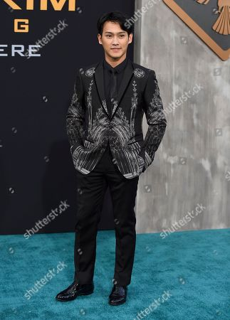 "Stock Image of Wesley Wong arrives at the global premiere of ""Pacific Rim Uprising"" at the TCL Chinese Theatre, in Los Angeles"