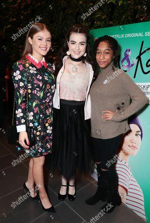 Kerri Medders, Merit Leighton and Iman Benson