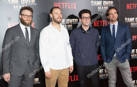 Seth Rogen, Evan Goldberg, and Eli Bush