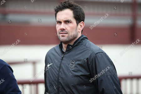 Matt Leinart at Southern California during USC Pro Day, Wednesday, , 2018, in Los Angeles. The Pro Day is intended to showcase talent to NFL scouts for the upcoming draft. (Photo by Jevone Moore)