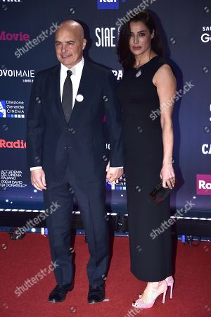 Luca Zingaretti and Luisa Ranieri