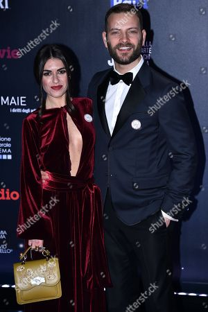 Alessandro Borghi and girlfriend Roberta Pitrone
