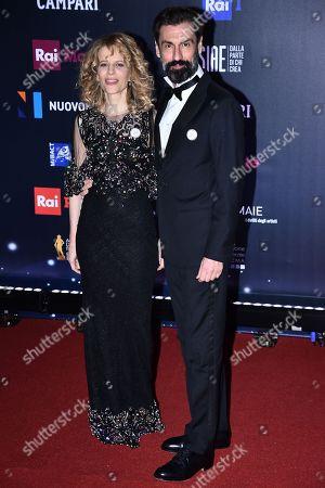 Sonia Bergamasco and Fabrizio Gifuni