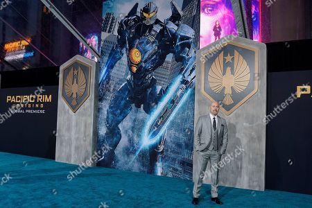 Editorial image of Global Premiere of Pacific Rim Uprising, Los Angeles, USA - 21 Mar 2018