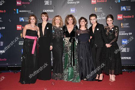 Claudia Gerini, Paola Cortellesi, Sonia Bergamasco, Valeria Golino, Giovanna Mezzogiorno, Jasmine Trinca, Isabella Ragonese