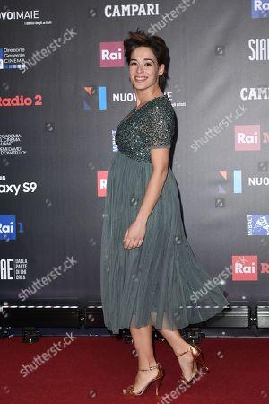 Editorial photo of David di Donatello Award ceremony, Rome, Italy - 21 Mar 2018