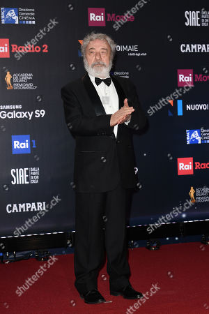 The director Gianni Amelio