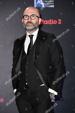 The writer Donato Carrisi
