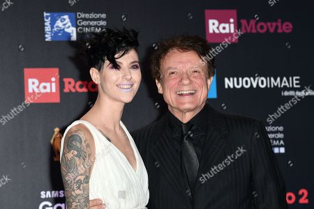 Editorial picture of David di Donatello Award ceremony, Rome, Italy - 21 Mar 2018
