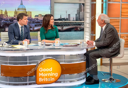 Ben Shephard, Susanna Reid and Tom Bower