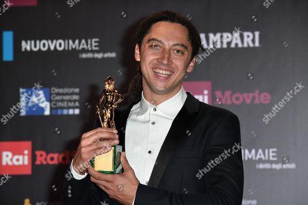 Editorial picture of David di Donatello Award ceremony, Press Room, Rome, Italy - 21 Mar 2018