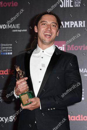 Editorial photo of David di Donatello Award ceremony, Press Room, Rome, Italy - 21 Mar 2018