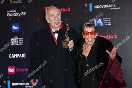 Editorial image of David di Donatello Award ceremony, Press Room, Rome, Italy - 21 Mar 2018