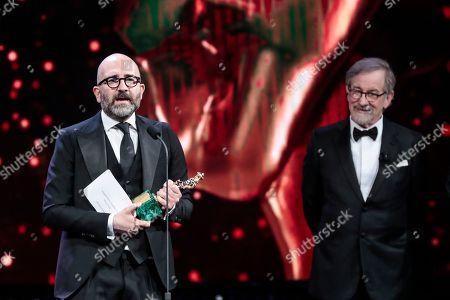 Director Donato Carrisi, Steven Spielberg
