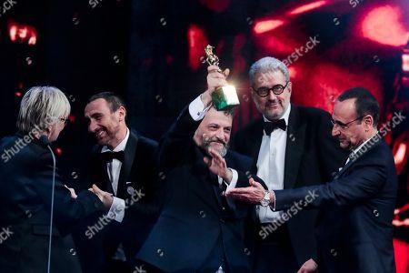 Editorial photo of David di Donatello Award ceremony, Show, Rome, Italy - 21 Mar 2018