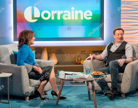 Lorraine Kelly and Sean Wilson