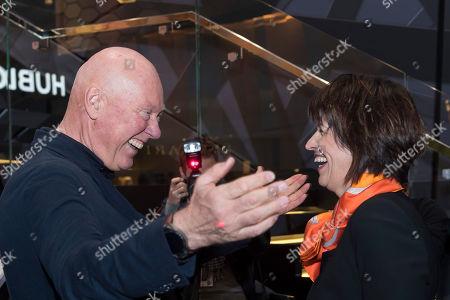 Doris Leuthard and Jean-Claude Biver
