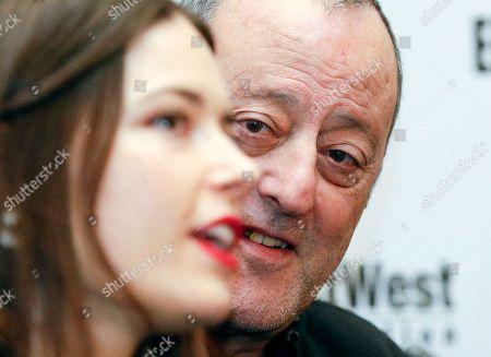 Editorial photo of Jean Reno at press conference on movie 'The Last Step' in Kiev, Ukraine - 22 Mar 2018