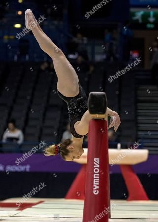 Editorial photo of Gymnastics World Cup, Birmingham Arena, Birmingham UK - 22 Mar 2018