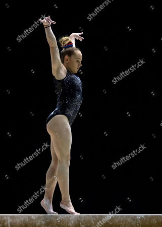 Editorial picture of Gymnastics World Cup, Birmingham Arena, Birmingham UK - 22 Mar 2018