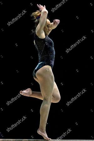 Editorial image of Gymnastics World Cup, Birmingham Arena, Birmingham UK - 22 Mar 2018