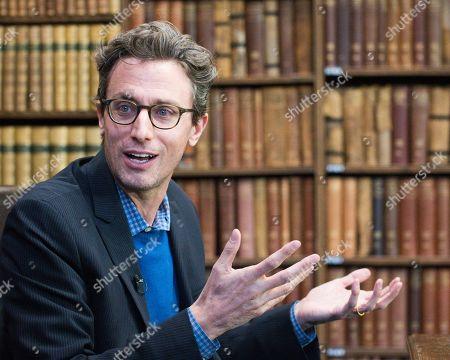 Editorial photo of Jonah Peretti at The Oxford Union, UK - 28 Feb 2018