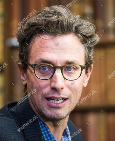 Stock Photo of Jonah Peretti, American internet entrepreneur, CEO of Buzzfeed and co-founder of the Huffington Post