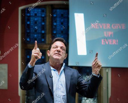 Jordan Belfort, American author, motivational speaker and former stockbroker
