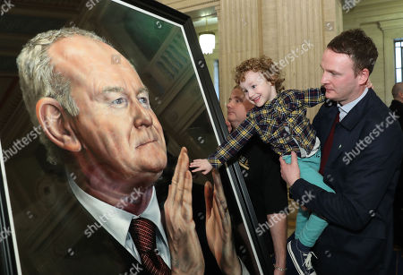 Editorial image of Portrait of former deputy First Minister Martin McGuinness unveiled, Belfast, Northern Ireland - 22 Mar 2018