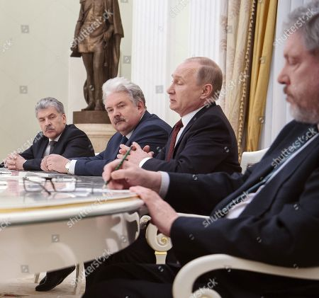 From the Communist Party and the 'People's patriotic forces of Russia', director of the Lenin State Farm Pavel Grudinin, from the party 'Russian People's Union' Sergei Baburin, Russian President Vladimir Putin, from the 'Party of Growth' Boris Titov and chairman of the Federal Political Committee of 'Yabloko' Party Grigory Yavlinsky