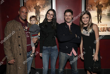 Stock Photo of Christian George, Lydia Hearst-Shaw, Director/Actor Jon Abrahams and Nicole Elizabeth Berger